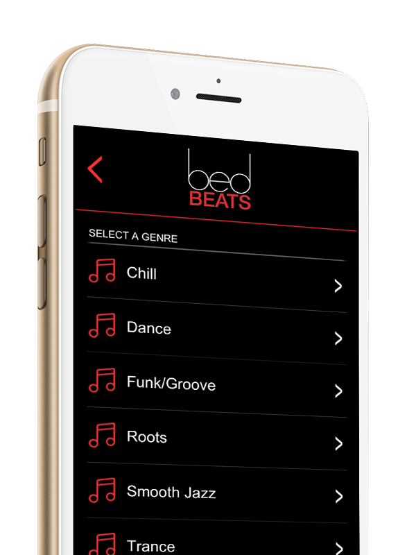 Bed Beats | A Responsive Music App for the bedroom